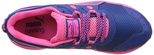 Puma Descendant TR Wn, Chaussures de Running Compétition Femme Bleu (True Blue-knockout Pink 08)