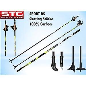 Sport RS 100% Carbon Langlaufstock Skating Roller Stöcke Rollski Stöcke Skike