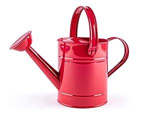 Woodyland 102191471 - Bandeja para jardín, Color Rojo