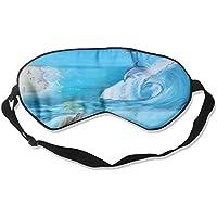 Sleep Eye Mask Aquatic Life Tortoise Lightweight Soft Blindfold Adjustable Head Strap Eyeshade Travel Eyepatch preisvergleich bei billige-tabletten.eu