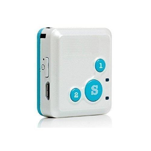 RF-V16 Mini GPS Echtzeit Tracker und Kommunikator mit kostenlosem iOS/ Android App/ Web Tracking Service, Lautsprecher, Mikrofon, Vibrationssensor, Geräuschsensor, akustische Überwachung