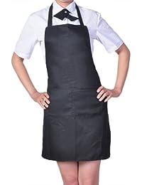 Damen Frauen Kochschürze Schürze Küchenschürze Latzschürze Arbeitskleidung