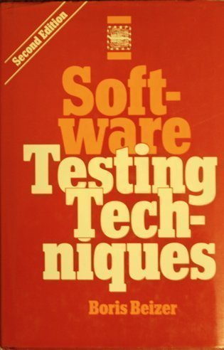 Software Testing Techniques by Beizer, Boris (1990) Hardcover