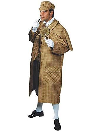 Adult Sherlock Holmes Costume Medium Fancy Dress