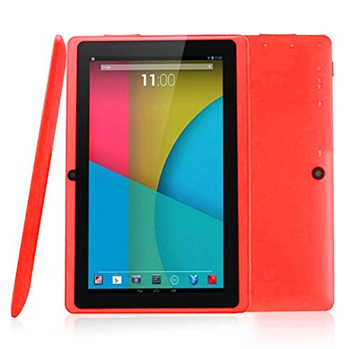 Liteness Android 4.4 Laptop 7 Zoll Quad-Core Tablet PC mit WLAN Funktion, rot, 1,2-ghz-notebook