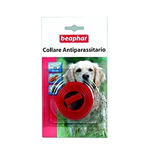 Beaphar - Collare antipulci e zecche per cani (colori vari)