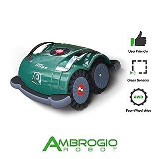 Robot Ambrogio L60 Basic Lawn Mower Robot without Shape, Green, 41 x 24 x 20 Cm