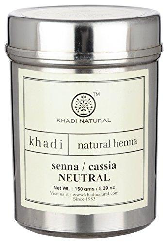 khadi Senna/Cassia (Neutrales Henna) 100g I natürliche Haarkur für gesundes Haar I ayurvedische...