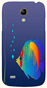 Wonderful multicolor printed protective REBEL mobile back cover for Samsung I9190 Galaxy S4 mini D.No.N-T-3759-S4M