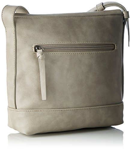 Tamaris Silvia Crossbody Bag, sac bandoulière Grau (grey Comb)