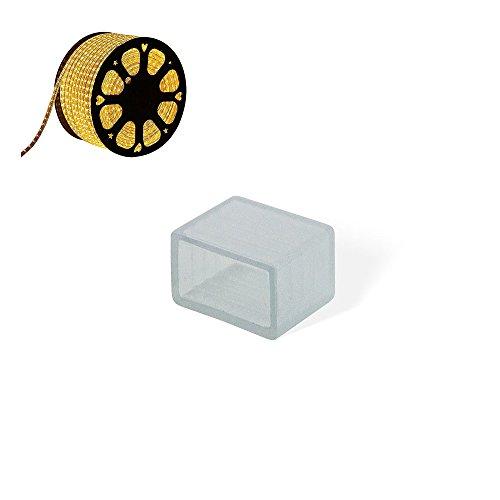 CLE Endkappe für LED Stripe Schlauch 50m 230V 5050 LEDs