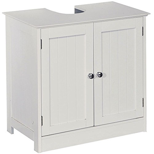 A Brand New Under Sink Basin Storage Unit White Wood Bathroom Cabinet Search Furniture