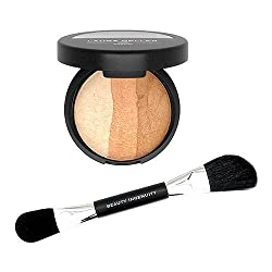 Laura Geller Baked Sculpting Bronzer with Brush Porcelain-Fair 9g