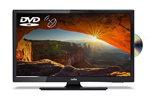 Cello C22230FT2 22� Full HD LED TV with built in DVD Player and Freeview T2 HD - UK Made