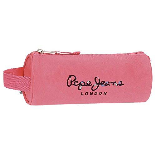 Pepe Jeans Harlow Neceser de Viaje, 23 cm, 1.86 litros, Rosa