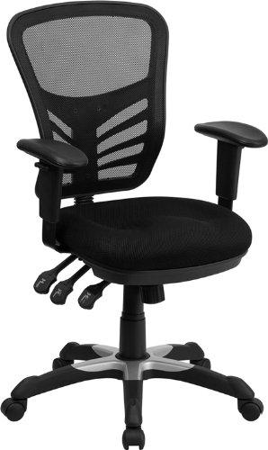 offex-hl-0001-gg-mid-back-silla-con-triple-paddle-control-negro-de-malla