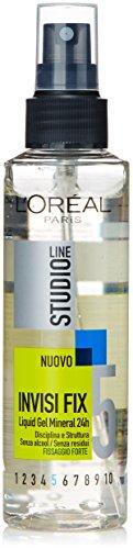 L'Oréal Paris Studio Line Invisi Fix Liquid Gel Liquido Capelli, 150 ml