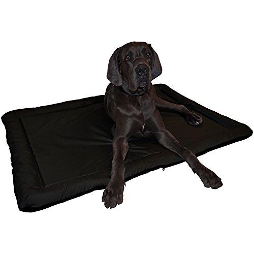 Hossi\'s Wholesale XXL-schwarz Wasserfestes In und Outdoor Hundebett Hundematte,