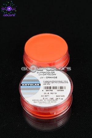 Kryolan - Supracolor fard gras fluo 8g ORANGE