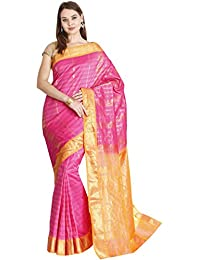 The Chennai Silks - Art Silk Saree - Fantango Pink - (CCMYSS6251)