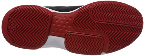adidas Approach, Scarpe da Tennis Uomo Nero (Core Black/Scarlet/Ftwr White)