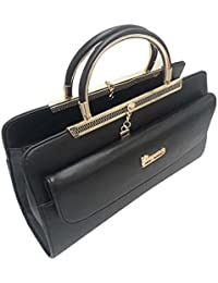 Purse Collection Elegance Women's Synthetic Leather(PU) Black Handbag & Purse/woman Purse In New Design/woman...