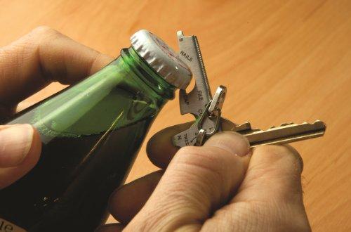 416l1ifysWL - KeyTool 8-in-1 Keyring Multi-tool, True Utility