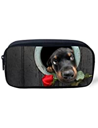 EasyBuy India Pet Dog Print Women Cosmetic Cases Kids Animal Pencil Pouch Makeup Bags Dog Husky Printed Pencil...