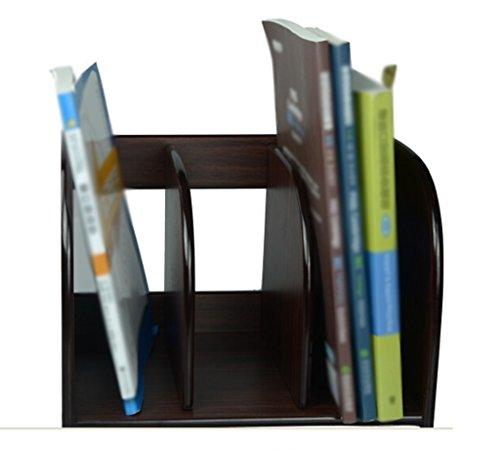 DFHHG® Soporte de Libro 28.9 * 21.2 * 21.5 Cm Armarios de Archivos de Barra de Archivos de Archivo durable