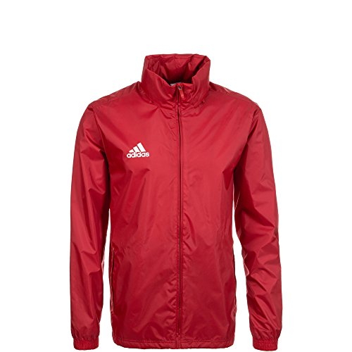 adidas Core 15 Regenjacke Kinder rot / weiß, 152