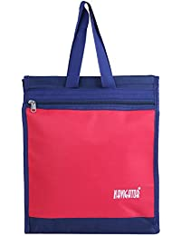 Levitas Blue & Red Color Multi Purpose Lunch Bag For Unisex