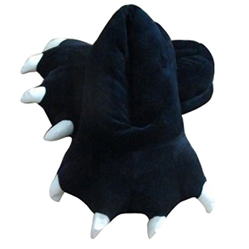 Aivtalk - Unisex Winter Warm Animal Paw Slippers for Women Men Plush Shoes Paw Funny Animal for Cosplay Costume 7 colors