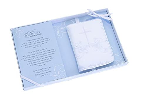 Lillian Rose English Language Wedding Bible with Embroidered Cover, 4.5-Inch by 2.75-Inch by Lillian Rose