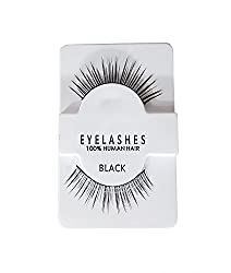 Eyelashes Makeup Natural Thick Black Eye Lashes Soft Lash | Natural Lashes and Long Lash Style for Makeup (1 Normal)