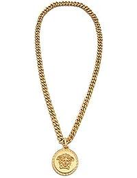 YuanChuang Mode Medusa Anhänger Golden Legierung Anhänger Halskette (1 Pc)