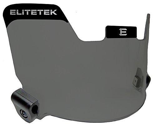 EliteTek Football Eye-shield Visor (Smoke Tinted) by EliteTek