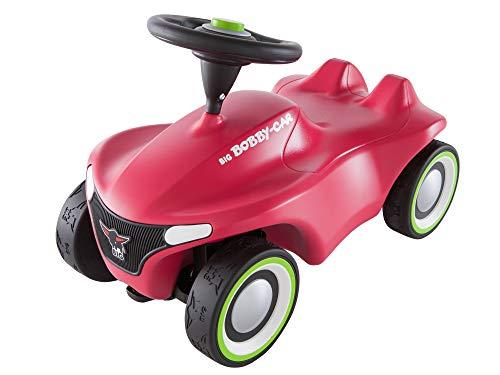 BIG Spielwarenfabrik 800056242 - BIG-Bobby-Car Neo Pink Rutschfahrzeug, Rutscherfahrzeug, Rutschauto, ab 1 Jahr