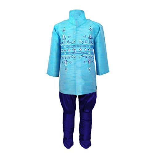 JBN Creation Kids Indowester Sherwani Suit Dress with Jodhpuri Breedges For Boys