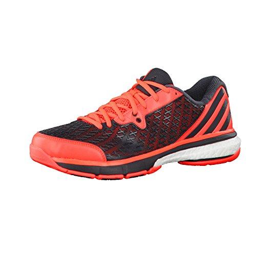 adidas Performance HB Spezial M, Chaussures Indoor Homme 46 - Rot/Grau / weiß