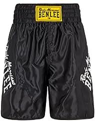 BENLEE Rocky Marciano para hombre boxeo Bona Venture Negro negro Talla:large