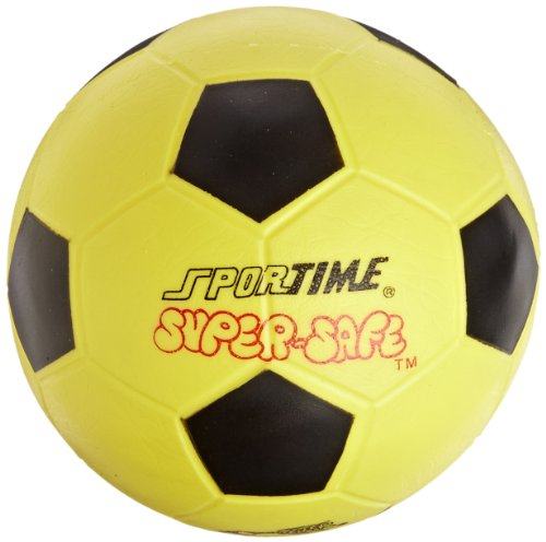 Sportime Super-Safe Soccer Ball - 8 inch - Yellow -