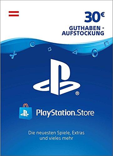 PSN Card-Aufstockung | 30 EUR | österreichisches Konto | PSN Download Code