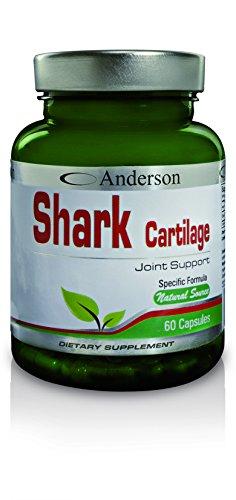 Andeson - Shark Cartilage - 60caps - Integratore alimentare per il supporto articolare