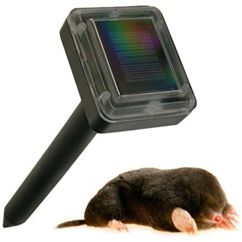 Kabalo Solar Powered giardino Sonic Waves Mole Repeller - anche per Rat, Mice, parassita che respinge, etc [Solar Powered Garden Sonic Waves Mole Repeller - also for Rat, Mice, Pest repelling, etc]