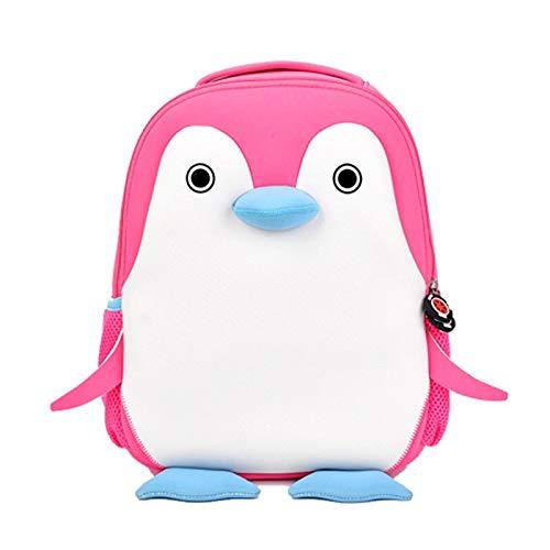 HPADR Zaino per bambini Scuola Borse Per Bambini Bambini Simpatici Animali Design Ragazzi Zaini Pinguini Schoolbag J 6