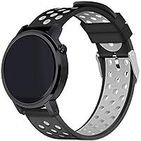 Zolimx Pulsera de Silicona Correa Fitness Smartband Baratos Elegantes Deportivos para Xiaomi Huami Amazfit Stratos 2/2S Reloj Inteligente (Gris)
