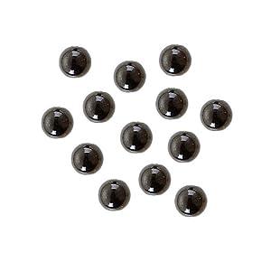 Gütermann / KnorrPrandell 6092616 - Perlas Negro de 6 mm, 60 Piezas / Bolsa Importado de Alemania