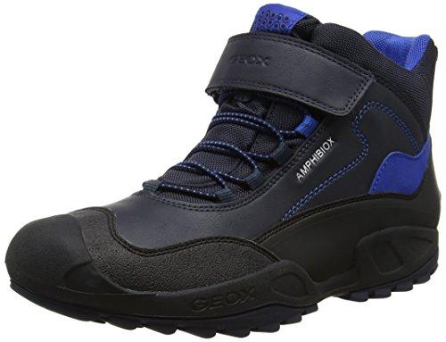 Geox J New Savage B Abx a, Zapatillas Altas Unisex Adulto, Azul (Navy/Royal), 41 EU