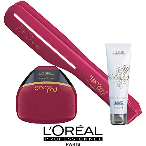 Pack cheveux fins Steampod Edition limitée Red Obsessed L'Oréal