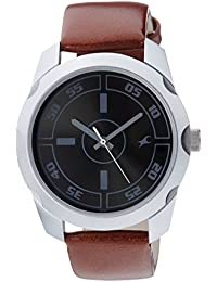 Fastrack Casual Analog Black Dial Men's Watch - 3123SL03